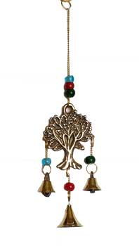 "9"" Tree of Life brass chime"