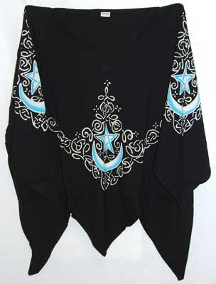 Celtic Moon Black Large Top