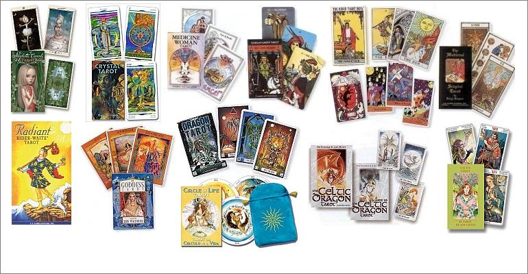 Wide Assortment of Tarot Decks ...